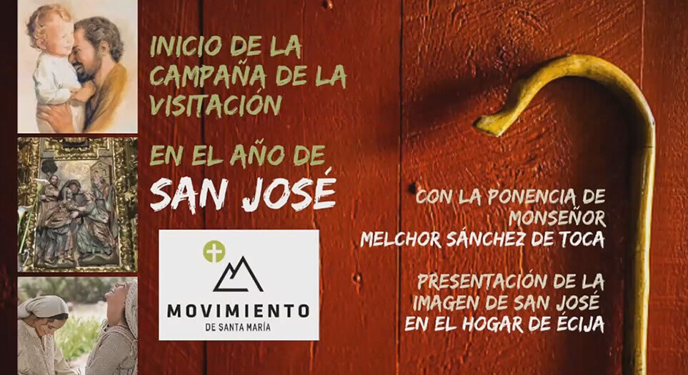 Charla online sobre san José