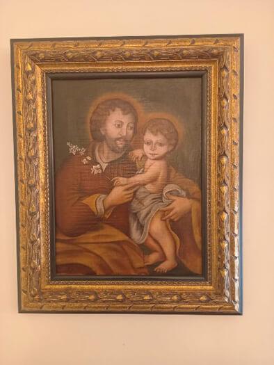 Imagen de san José del hogar de Roma
